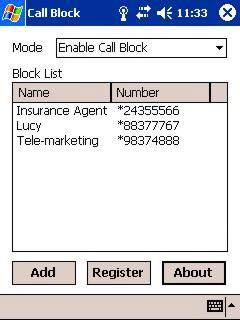 بلوک کردن تماس ها در ویندوز موبایل با Call Block 1.17